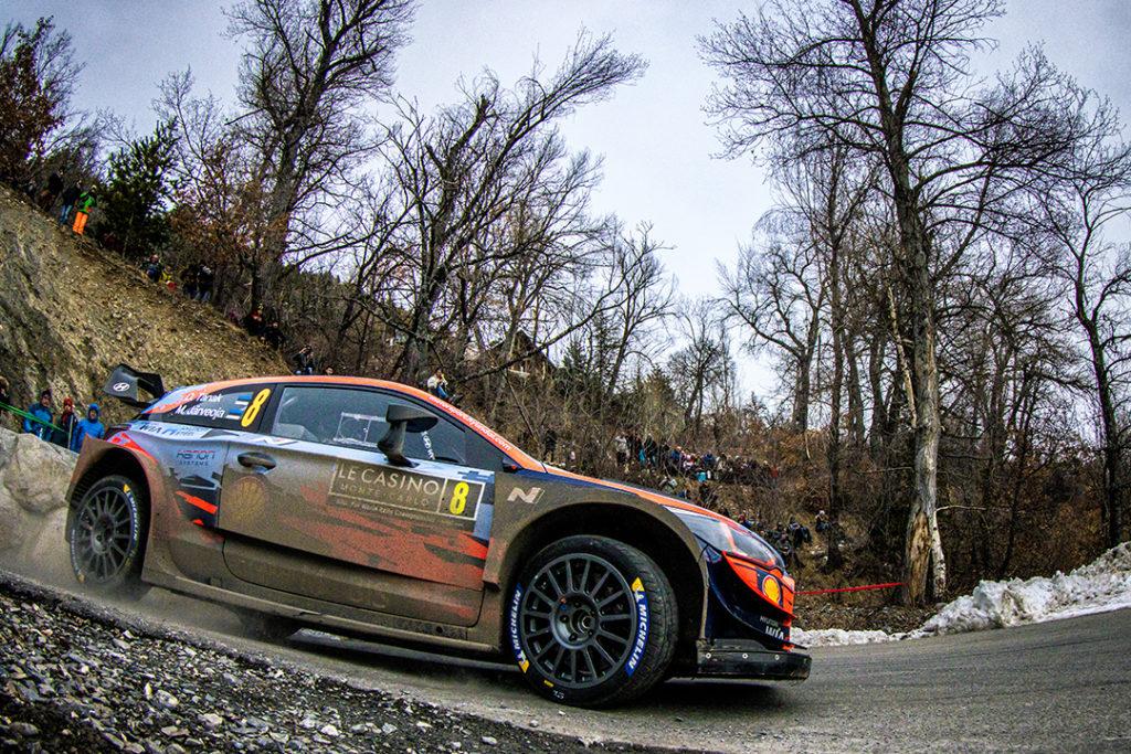 88eme Rallye Monte-Carlo - WRC ETAPE 2 ES 4/7 Saint-Clement/Freissinieres © 2020 Agence SCD/Olivier Caenen