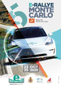 affiche E-Rally 2020