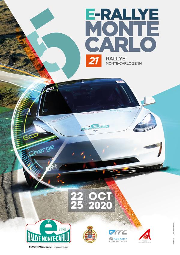 Affiche E-Rallye Monte-Carlo 2020