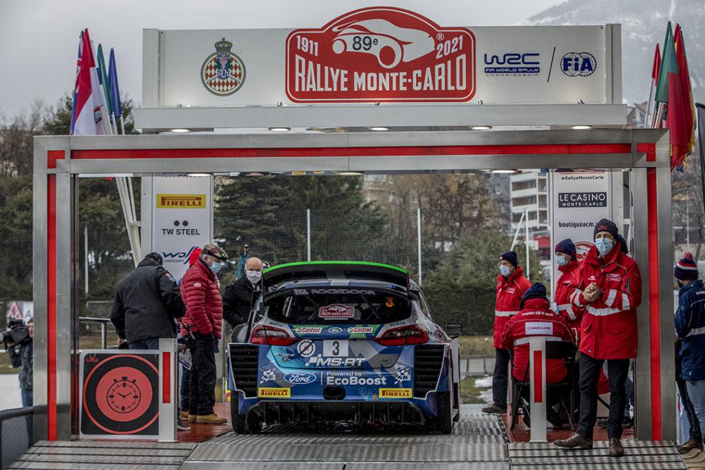Départ Rallye Monte-Carlo - Gap