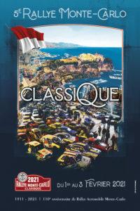 affiche Rallye Monte-Carlo Classique 2021
