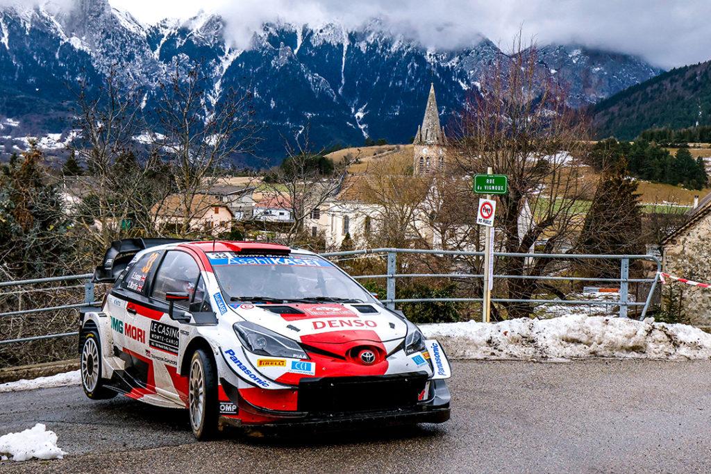 Evans/Martin - Toyota Yaris WRC  © Olivier Caenen