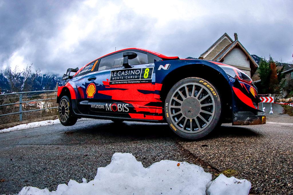 Tanak/Jarveoja - Hyundai I20 WRC  © Olivier Caenen