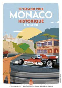 affiche Grand Prix de Monaco Historique 2022