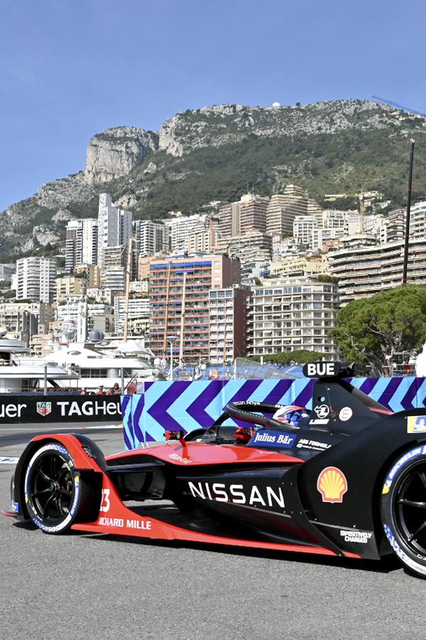 Affiche Monaco E-Prix 2022